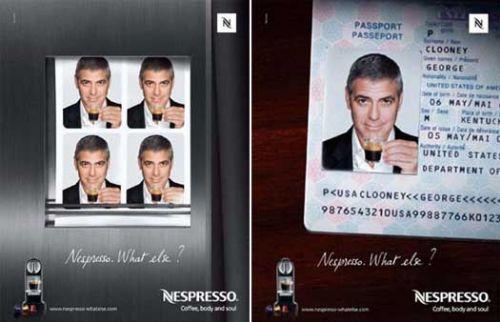 Джордж Клуни рекламирует Nespresso