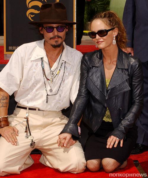 Джонни Депп и Ванесса Паради записали дуэт в память о Генсбуре
