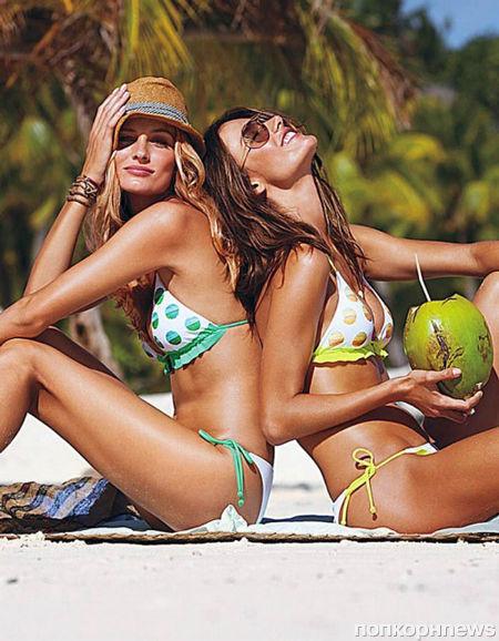 Ангелы Victoria's Secret в рекламной кампании новой коллекции купальников. Весна 2012