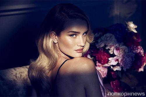 Роузи Хантингтон-Уайтли в снялась рекламной кампании своего аромата Rose Nuit