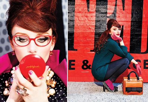 Первый взгляд на Брайс Даллас Ховард в рекламе марки Kate Spade