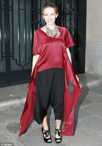 Кайли Миноуг экспериментирует с модой