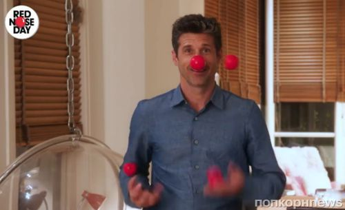 Бен Аффлек, Джулия Робертс, Эд Ширан и звезды «Реальной любви» в промо Red Nose Day