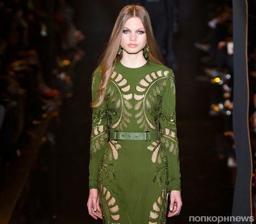Модный показ новой коллекции Elie Saab. Осень / зима 2015-2016
