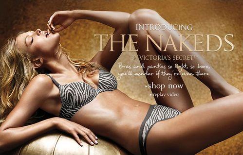 Реклама новой весенней коллекции нижнего белья от Victoria's Secret a's Secret