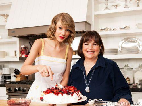 Тейлор Свифт в журнале Food Network Magazine. Июнь 2014