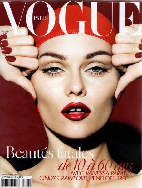 Ванесса Паради во французском Vogue. Ноябрь 2008