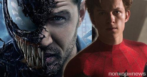 Том Холланд хочет увидеть Венома Тома Харди в киновселенной Marvel