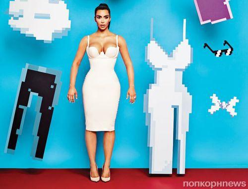 Ким Кардашян в журнале Adweek: «Моя семья абсолютно нормальная»