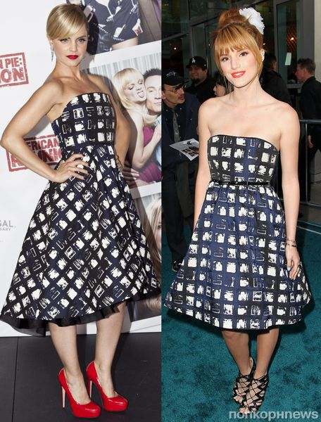 Fashion battle: Мина Сувари и Белла Торн