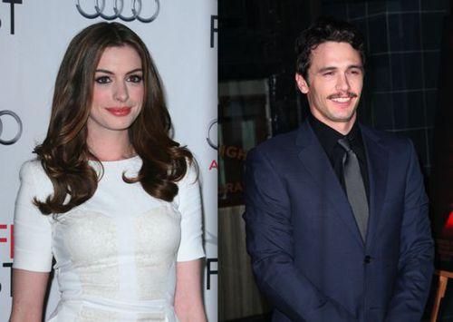"""Энн Хэтэуэй и Джеймс Франко станут ведущими на церемонии """"Оскар"""""""