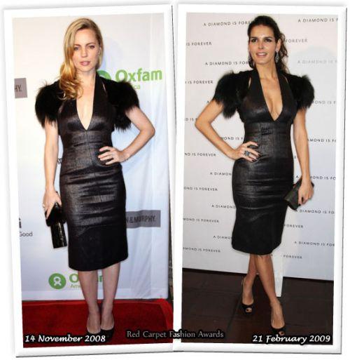 Fashion battle: Мелисса Джодж и Энджи Харман