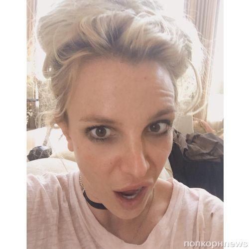 Видео: Бритни Спирс сделала 30 отжиманий