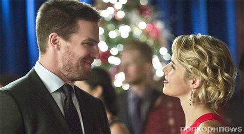 Оливер и Фелисити снова будут вместе в 5 сезоне «Стрелы»