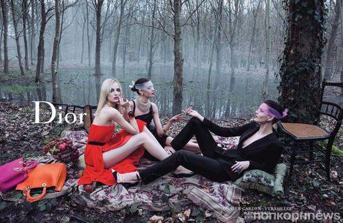 Рекламная кампания Dior Secret Garden 2 Versailles. Осень 2013