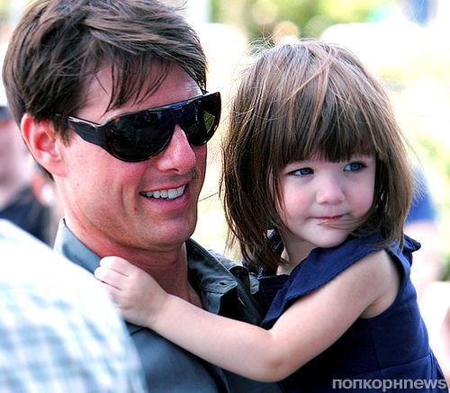 Том Круз больше двух лет не общается с дочерью