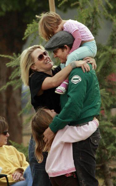 Счастливая семья Дженни Гарт и Питера Фачинелли