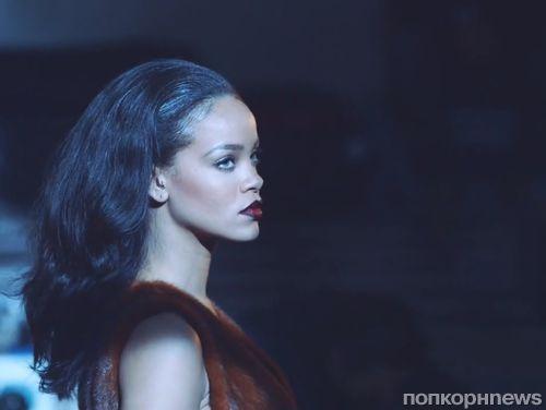 Рианна на съемках рекламной кампании Dior Secret Garden IV