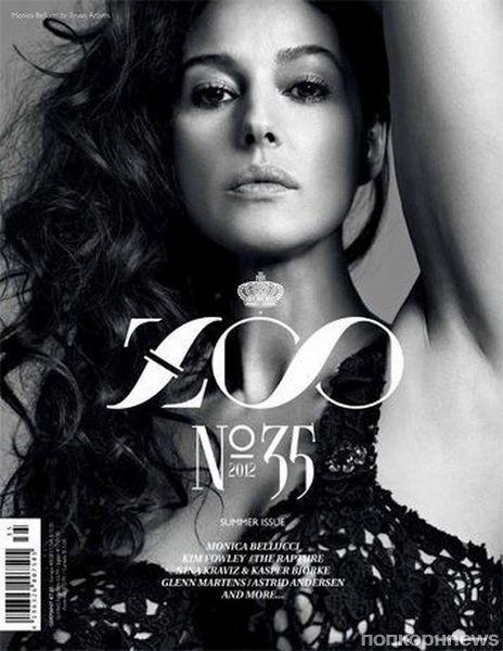 Моника Беллуччи в журнале Zoo. Выпуск 35. Лето 2012