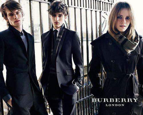 Новые фото Эммы Уотсон для рекламы Burberry