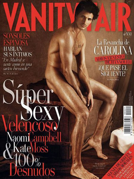 Бойфренд Кайли Миноуг в журнале Vanity Fair