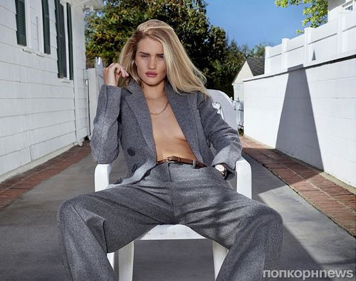 Роузи Хантингтон-Уайтли в журнале V Magazine. Лето 2014