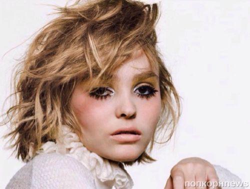 16-летняя дочь Джонни Деппа снялась для Vogue