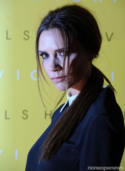 Презетация новой коллекции Виктории Бэкхем в Лондоне