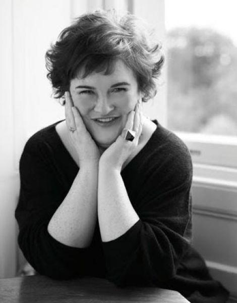 Сьюзан Бойл в журнале Harper`s Bazaar. Сентябрь 2009