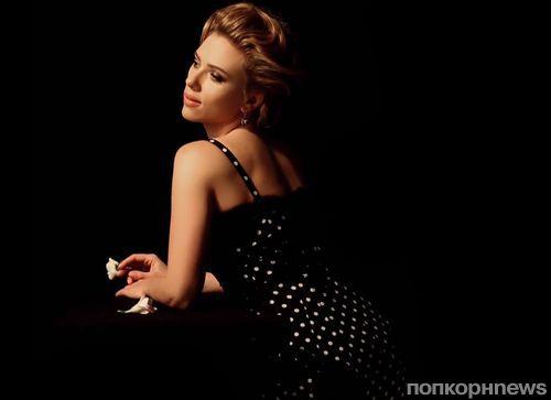 Видео: Скарлетт Йоханссон на съемках рекламной кампании Dolce & Gabbana