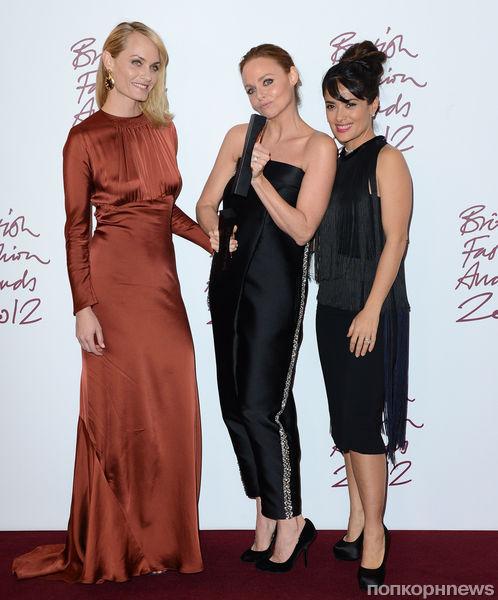 Звезды на церемонии British Fashion Awards 2012