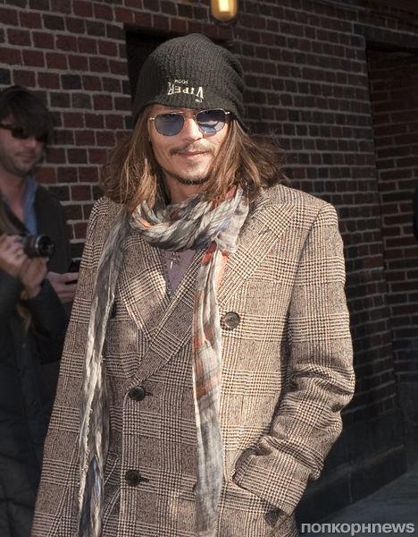 Джонни Депп пригласил бездомных в свой фильм