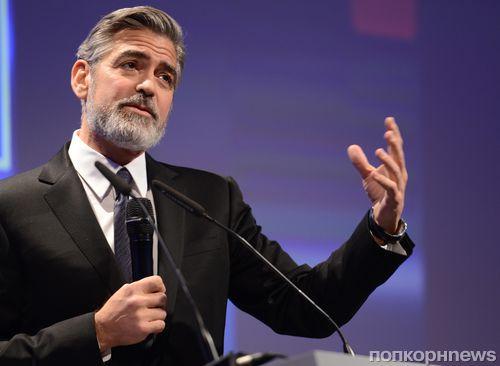 Джордж Клуни потратил гонорар на спутник-шпион