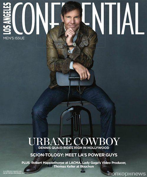 Деннис Куэйд в журнале Los Angeles Confidential. Октябрь 2012