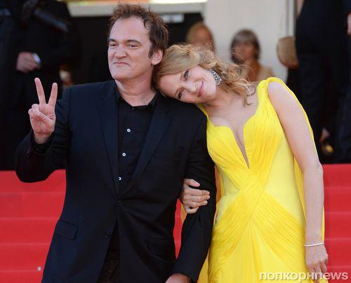 Ума Турман и Квентин Тарантино: новая пара в Голливуде?
