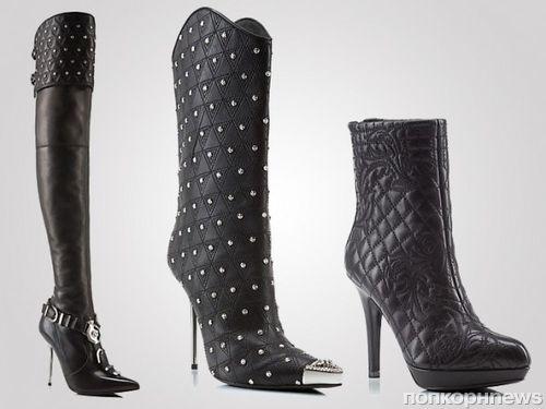 Осенне-зимняя коллекция обуви от Versace