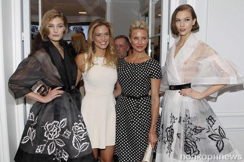 Модный показ Dior Haute Couture. Весна / лето 2012