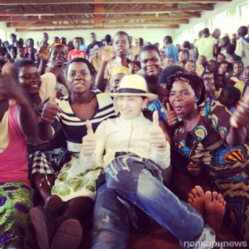 Мадонна отрицает обвинения правительства Малави