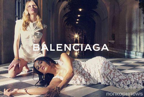 Зои Кравиц стала лицом весенней рекламной кампании Balenciaga