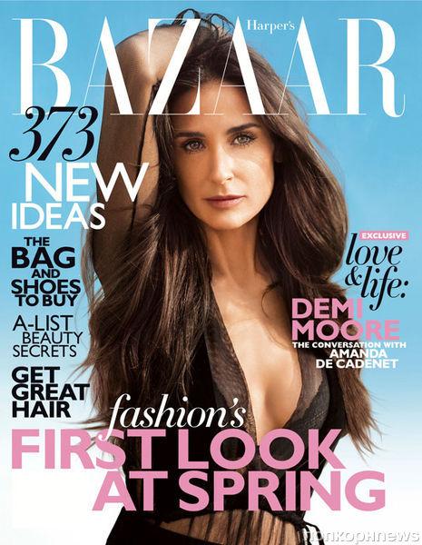 Деми Мур в журнале Harper's Bazaar. Февраль 2012
