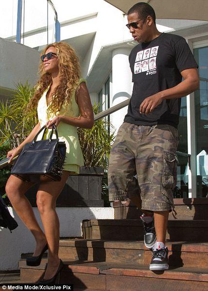 Бейонсе и Jay-Z на романтическом свидании