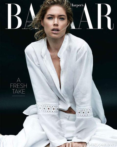 Даутцен Крез в журнале Harper's Bazaar. Март 2012