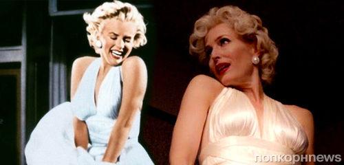 Джиллиан Андерсон примерила образ Мэрилин Монро в сериале «Американские боги»