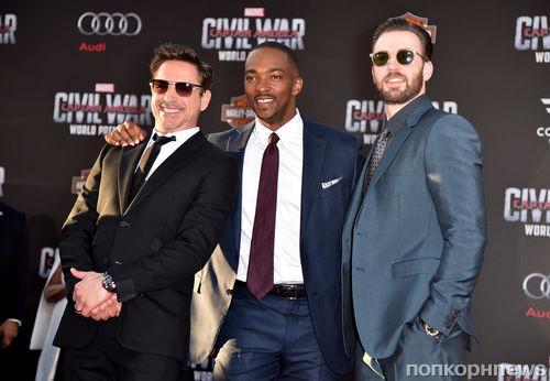 Фото: звезды «Первый Мститель: Противостояние» на премьере в Голливуде