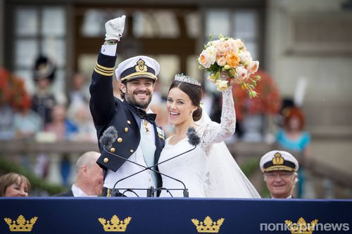 Шведский принц Карл Филипп женился на модели нижнего белья