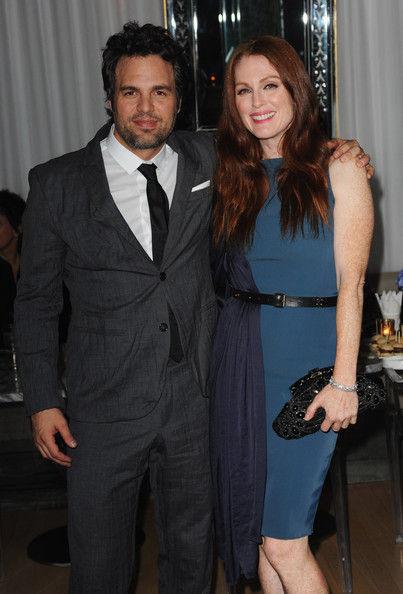 Джулиана Мур и Марк Руффало на Лондонском кинофестивале