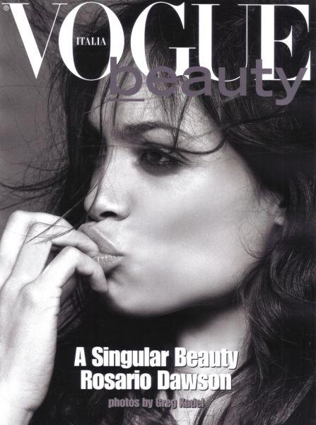 Розарио Доусон в журнале Vogue. Италия. Июль 2009