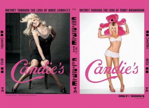 Бритни Спирс в новой рекламе Candies