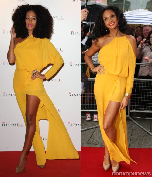 Fashion battle: Соландж Ноулз и Алиша Диксон