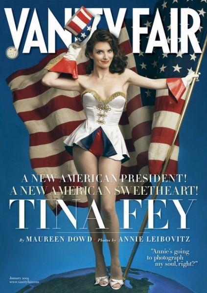 Тина Фей в журнале Vanity Fair. Январь 2009